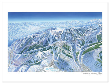 Deer Valley Ski Map | Deer Valley Map | by James Niehues