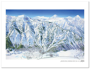 Jackson Hole Ski | Jackson Hole Ski Map | by James Niehues