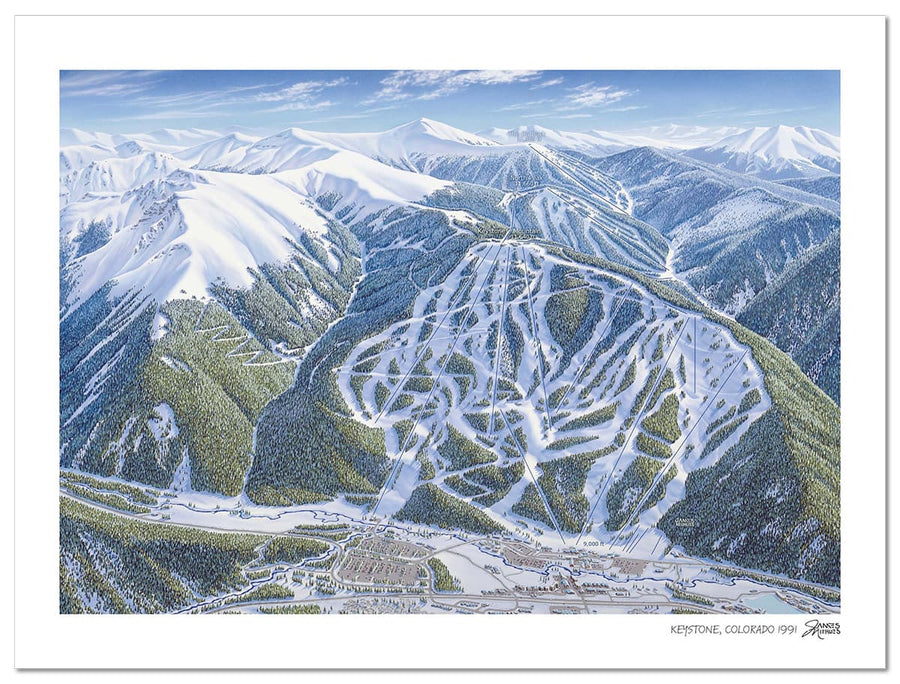 Keystone Ski Map | Keystone Map | by James Niehues