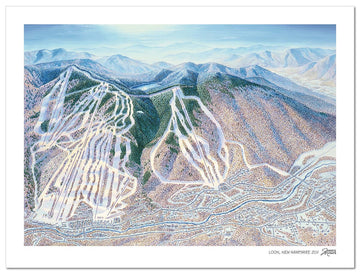 Loon Mountain Ski | Loon Trail Map | by James Niehues