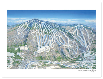 Okemo Mountain | Okemo Ski Map | by James Niehues