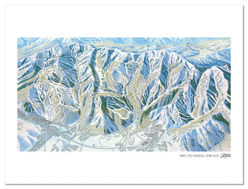 Park City Canyons | Park City Ski Map | by James Niehues