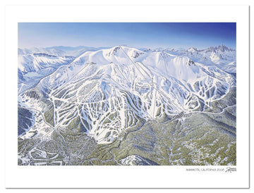 Mammoth Ski Map | Mammoth Mountain Ski Area | by James Nie Hues