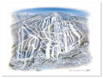 Mount Snow | Mount Snow Ski Map | by James Niehues