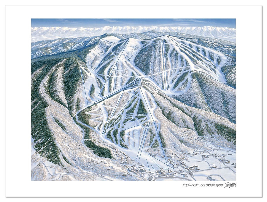 Steamboat Ski Map | Steamboat Map | by James Niehues