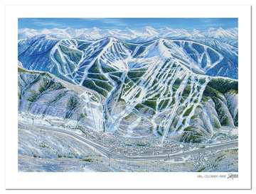 Vail Ski Map | Vail Map | by James Niehues