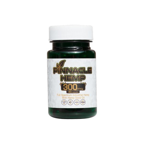 Pinnacle Hemp CBD Capsules 30CT 300mg CBD