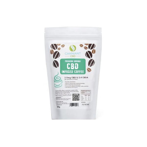 Canniant 70mg CBD Ground Coffee 200g