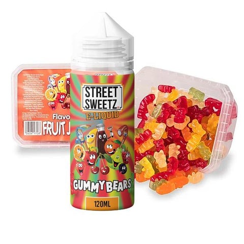 Street Sweetz 0mg 100ml Shortfill + 210g Jelly Sweets Combo
