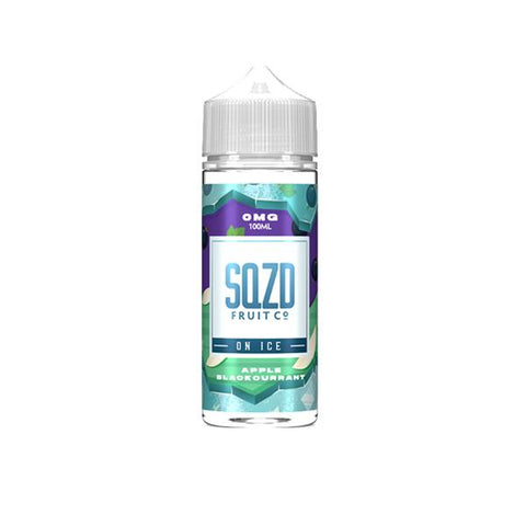 Sqzd On Ice 0mg 100ml Shortfill (70VG/30PG)