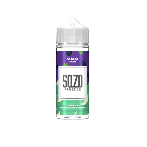 Sqzd 0mg 100ml Shortfill (70VG/30PG)