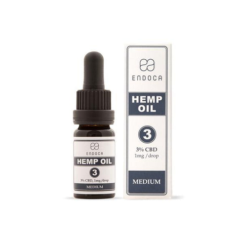 Endoca 300mg CBD Hemp Oil Drops 10ml