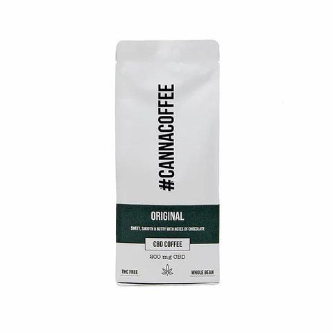 Cannacoffee 200mg CBD Original CBD Whole Bean Coffee