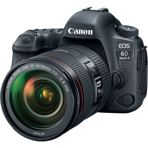 CAMERA DIGITAL CANON EOS 6D MARK II COM LENTE 24-105MM