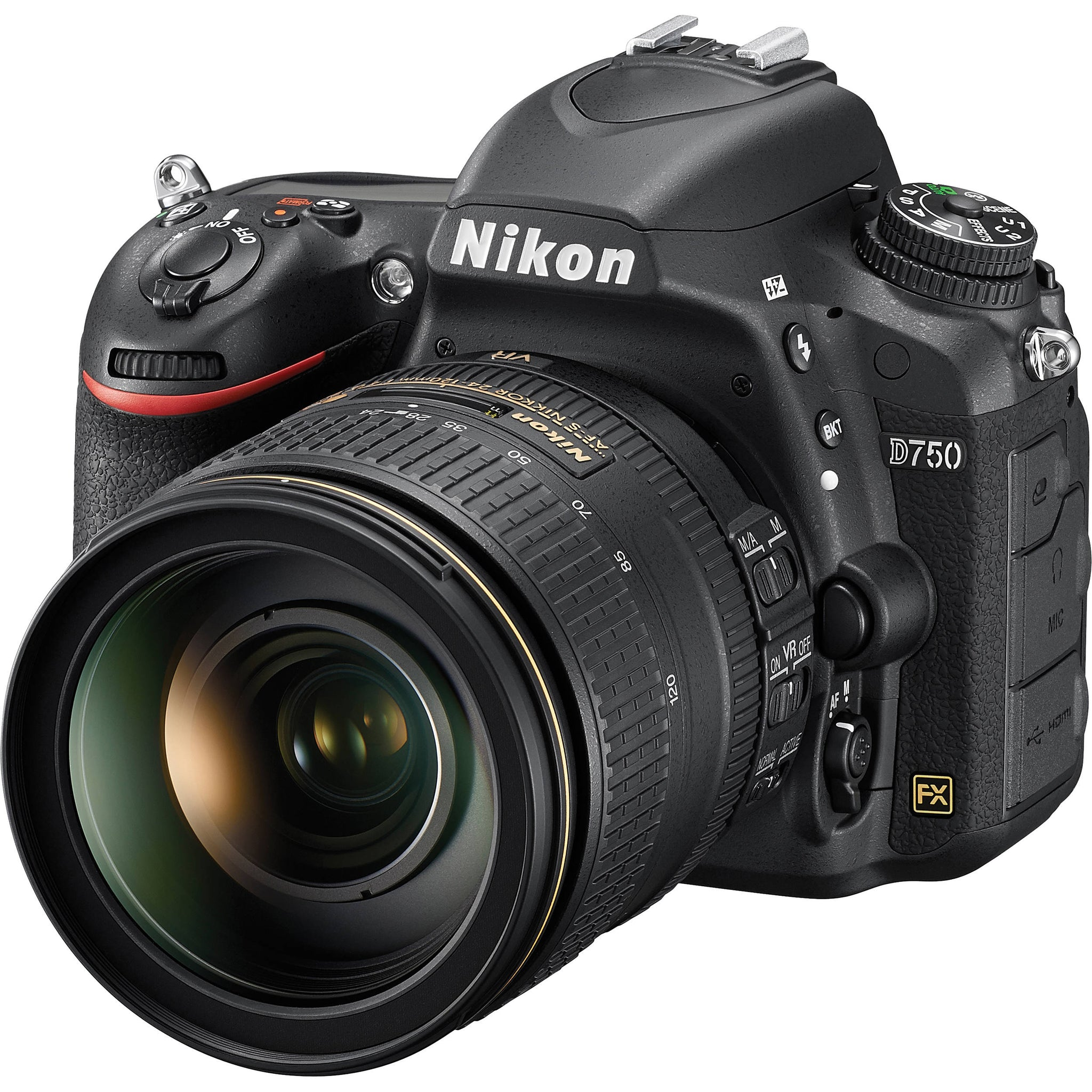 CAMERA DIGITAL NIKON D750 COM LENTE 24-120MM