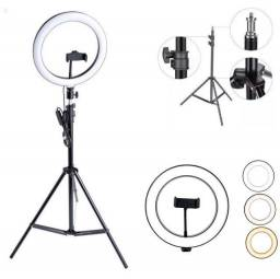 KIT RING LIGHT COM TRIPÉ