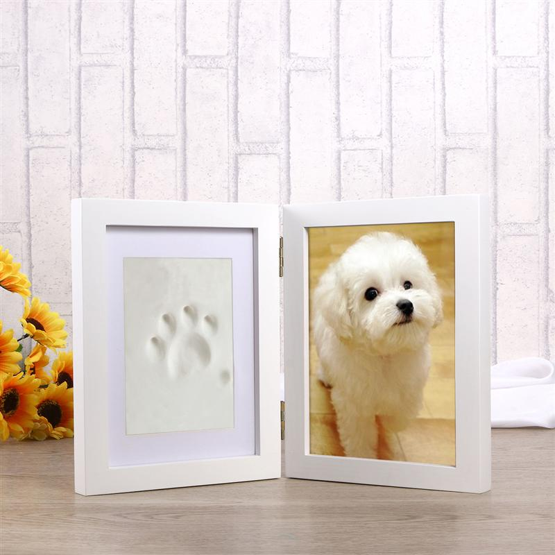 Dog & Cat Memorial Photo Picture Frame Paw Print – Oink Party