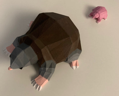 OSRS Merch Mole Figurine