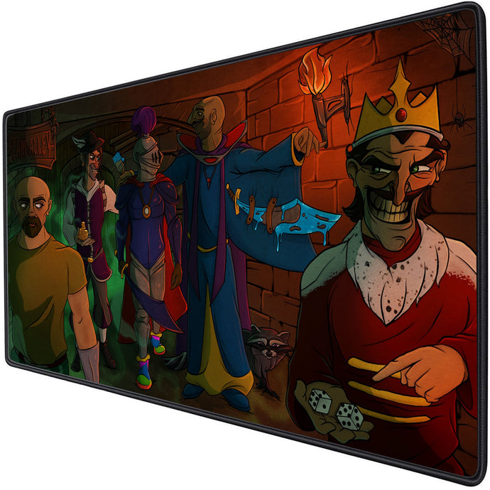 Scam Alley Mouse Pad XL