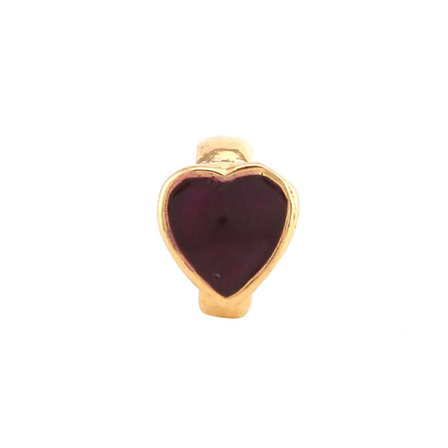 HEART OF HEARTS - DEEP RED - GOLD