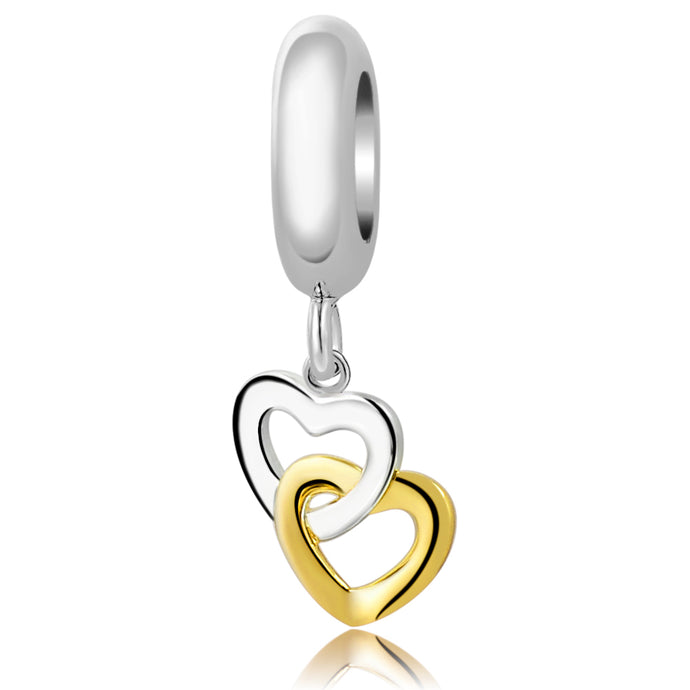 ENTWINED HEARTS - GOLD & SILVER