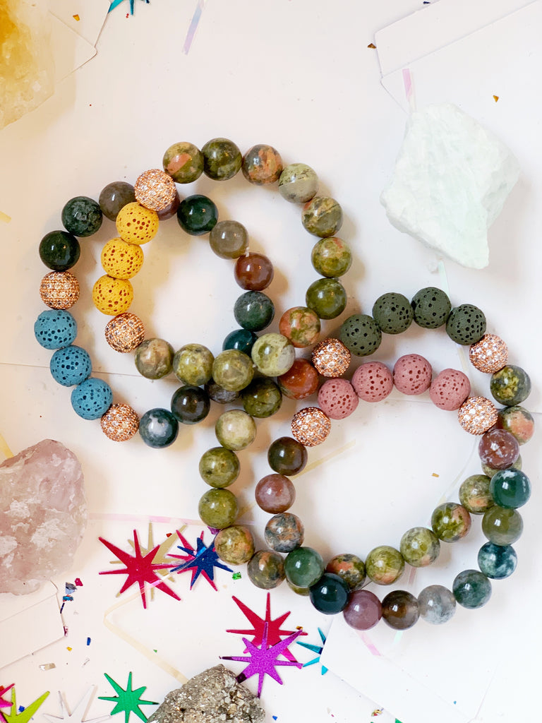 Youth Affirmation 8mm Gemstone Bracelet