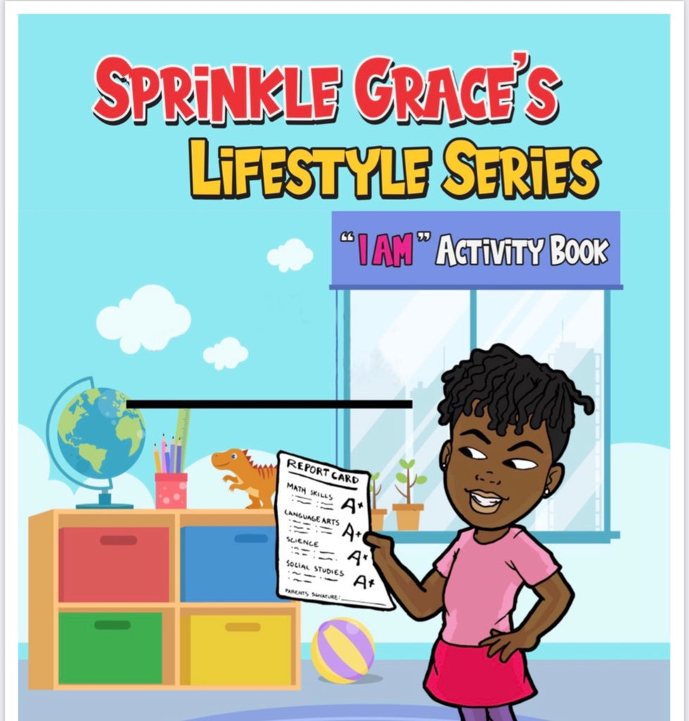 Sprinkle Grace's I AM Activity Book