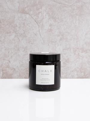 CHALK Candle 120ml  Spiced Orange