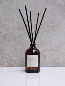 CHALK 100ml Amber Glass Diffuser  Black Pomegranate