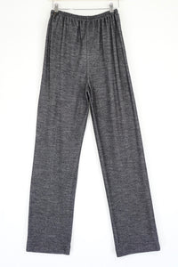 Elemente Clemente Black and White Fleck Wool Mix Trousers