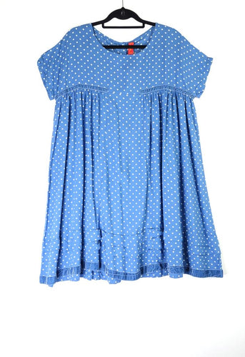 Ewa I Walla Blue and White Spot Tunic 55564