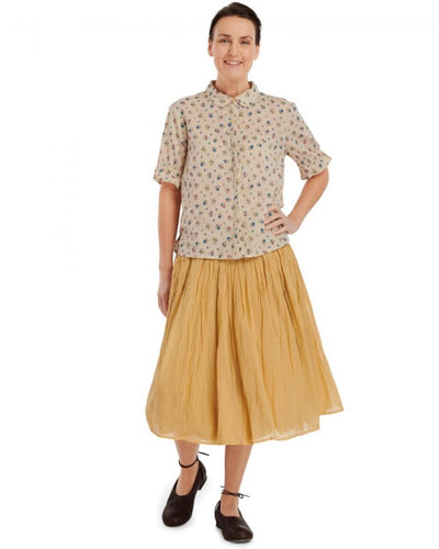 Ewa i Walla Crisp Cotton Skirt One Size 22950 SS20