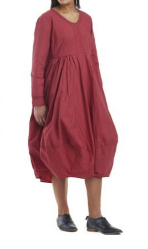 Ewa I Walla Crisp Cotton Rose Dress 55595 SS19