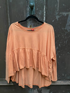 Ewa I Walla Copper Jersey Sweater 44694