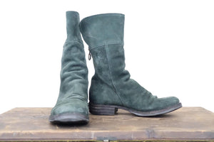 Fiorentini + Baker Green Suede High Boot