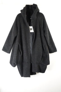 Preloved CREARE Black Coat BRAND NEW WITH TAGS
