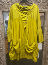 Lurdes Bergada Mustard Mac Jacket BRAND NEW WITH TAGS
