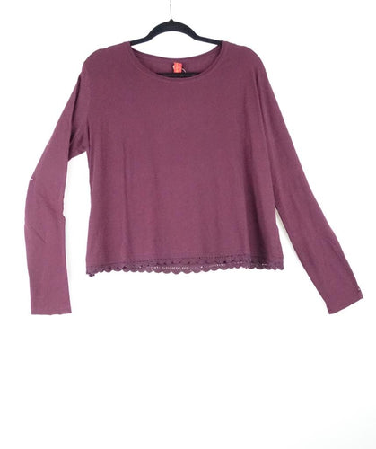Ewa I Walla Long Sleeve Bordeaux Blouse AW19 44695