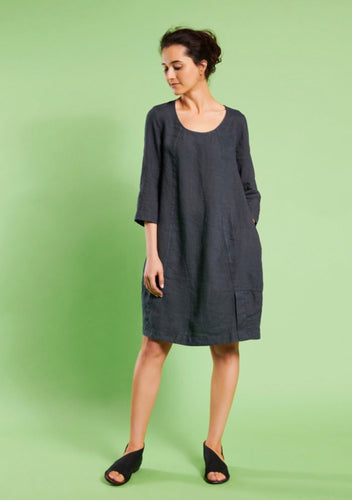 Mes Soeurs Et Moi Ablabla Tunic Dress Dark Grey / Night