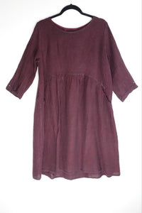 Grizas Burgundy Tunic 91369-L209 AW20