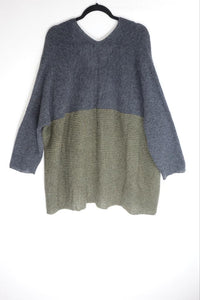 Grizas Grey Knit Jumper 65159-R1-057-264 AW20