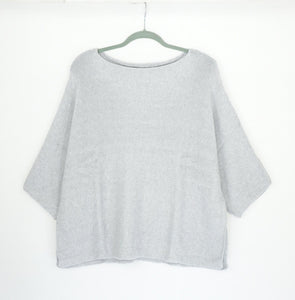 Chalk Pale Grey Jumper