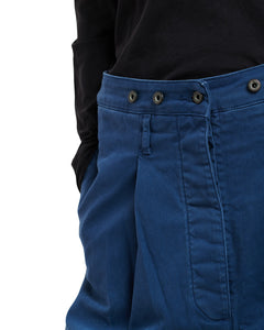 Ewa i Walla Blue Twill Trousers 11347 AW20
