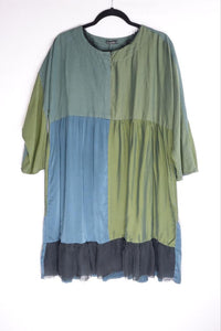 Grizas Green / Multi Dress Tunic 91396-S177-S13 AW20