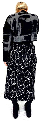 Ralston Black Skirt with Ring Design AW EFFIE