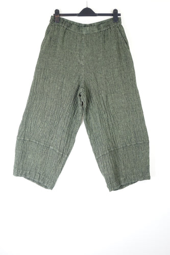 Grizas Linen Trousers Green 3507-L209