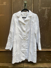Grizas White Linen Jacket 71165-L21-151 SS21
