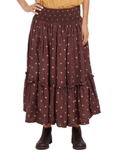 Ewa i Walla Spot Detail Silk Skirt 22972 AW20