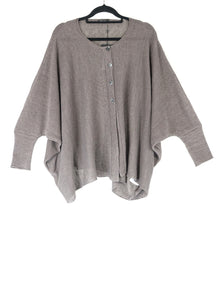Grizas Linen Knit Cardigan Lavender Grey 65122-BL506