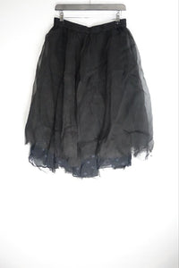 Grizas Black Net Skirt 4385-S153-S109 AW20